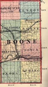 Northern Illinois Map by Boone County Illinois Genealogy The Ilgenweb Project