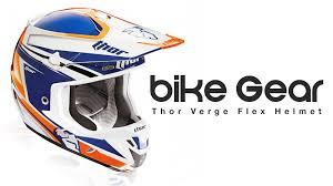 thor motocross helmets thor verge flex helmet bike gear review youtube