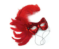 halloween masks by success creations lola feather masked ball mask