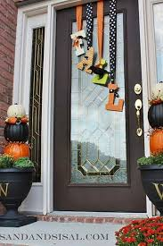 Ideas For Decorating Your Home Best 25 Fall Door Decorations Ideas On Pinterest Fall Door