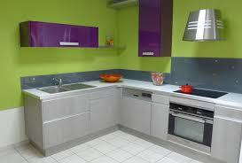meuble cuisine vert meubles fournel cuisine verte violette