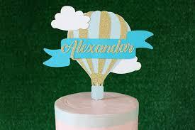 hot air balloon cake topper hot air balloon cake topper