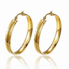 gold earing gold earring designs without stones gold earring designs without