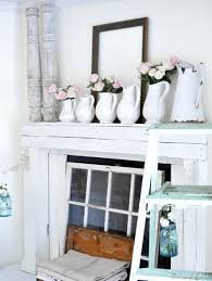 Shabby Chic Fireplace by 60 Best Fireplace U0026 Mantel Design And Decor Images On Pinterest