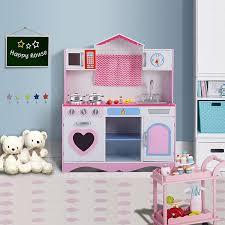 kids toy kitchen pretend play set toy kitchens u0026 play food