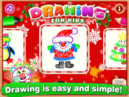drawing for kids christmas android apps on google play