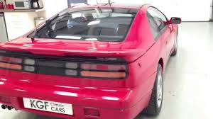 a sleek z32 nissan 300zx twin turbo with low owners and just