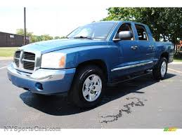 dodge dakota crew cab 4x4 for sale 2006 dodge dakota laramie cab 4x4 in atlantic blue pearl