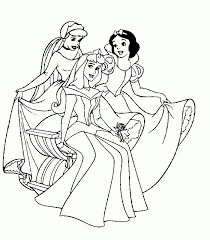 disney princess coloring pages print free coloring print