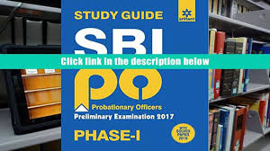read online sbi po phase 1 preliminary examination study guide