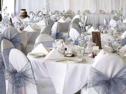 bows for chairs 50 silver organza chair covers sash bow wedding party chair