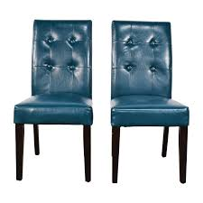Pier One Leather Chair 76 Off Pier 1 Imports Pier 1 Imports Mason Collection Teal