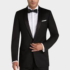 black slim fit tuxedo men u0027s tuxedos calvin klein men u0027s wearhouse