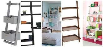 Bookshelves Small Spaces by Decorating With Leaning Ladder Shelves Jenna Burger