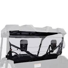honda 1000 kolpin rear scratch resistant windshield for honda pioneer 1000