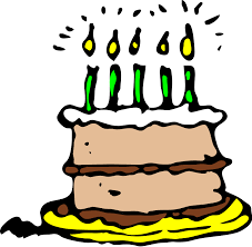 birthday clipart free pictures of birthday cakes with candles free clip