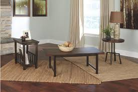 Ashley Furniture Living Room Tables by Riggerton Table Set Of 3 Ashley Furniture Homestore