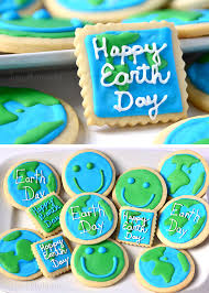day cookies earth day cookies