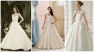 Satin Wedding Dresses Top Trend Satin Wedding Dresses Are Back In A Big Way
