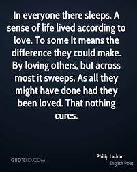Age Love Quotes by Philip Larkin Quotes Quotehd