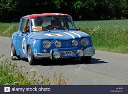 renault rally renault r8 gordini 1965 in the tour de bretagne classic car