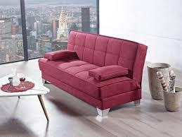 nexo carisma burgundy sofa bed by mobista