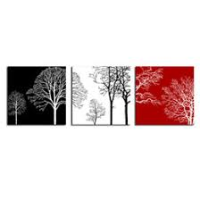 discount canvas trees black 2017 canvas trees black
