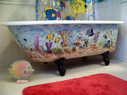 Bathtub Refinishing Omaha Bathroom Refinishing Tub Cost Nujits Intended For Painting A