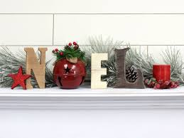 Craftcuts by Rustic Cedar Noel Letters With Jingle Bell O Craftcuts Com