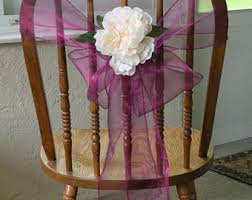 Purple Chair Sashes Chair Sashes Etsy