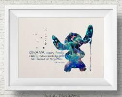 lilo stitch art etsy
