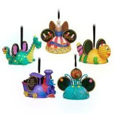 disney hat ornaments being in our new home this yr we are doing