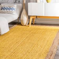 Woven Outdoor Rugs Rugs Curtains Woven Jute Yellow Indoor Outdoor Rug For