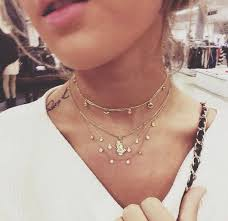 cute choker necklace images Jewels gold jewelry necklace boho hipster cute gold choker jpg