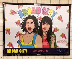 broad city halloween broad city subway ad the worley gig