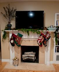 real home decorating ideas interior endearing design for fireplace mantel christmas today