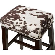 Cowhide Print Bench Cow Print Bench Cow Print Ott Broyhill Cow View Bull And