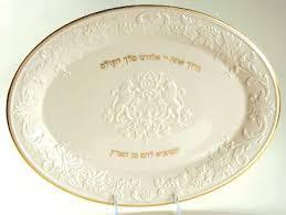 challah plates lenox judaic collection at replacements ltd