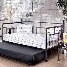 furniture of america metal daybed fontana