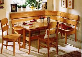corner kitchen table with storage bench leather seat u2014 carolina
