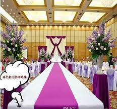 Isle Runner New Wedding Favors Purple Carpet Aisle Runner For Wedding Party