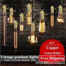 discount loft hanging lights vintage pendant lights copper lamp