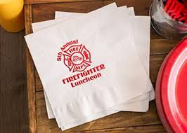 customizable napkins choose your style totallypromotional