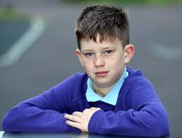 haircuts for 10 year old boys with short hair burnley schoolboy banned from the classroom for his extreme