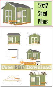 Garden Shed Plan 29 Best Shed Plans Images On Pinterest Free Shed Plans Garden