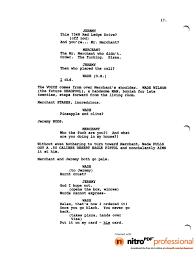 deadpool leaked script 1