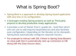 what is spring xke spring boot