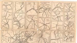 Massachusetts City Map by Historic Massachusetts Maps