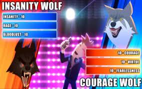 Meme Insanity Wolf - insanity wolf animeme wiki fandom powered by wikia