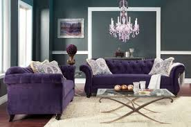 foa furniture of america antoinette 2pc purple sofa u0026 loveseat set